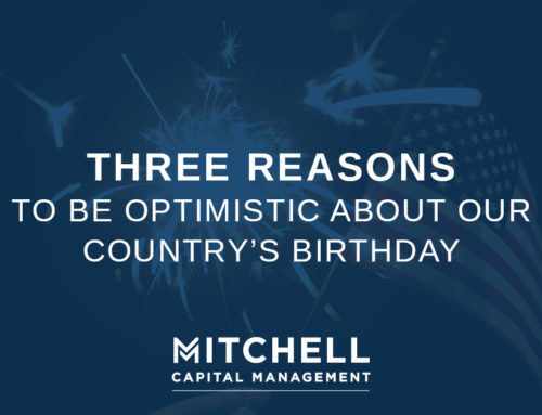 Three Reasons to be Optimistic About our Country's Birthday